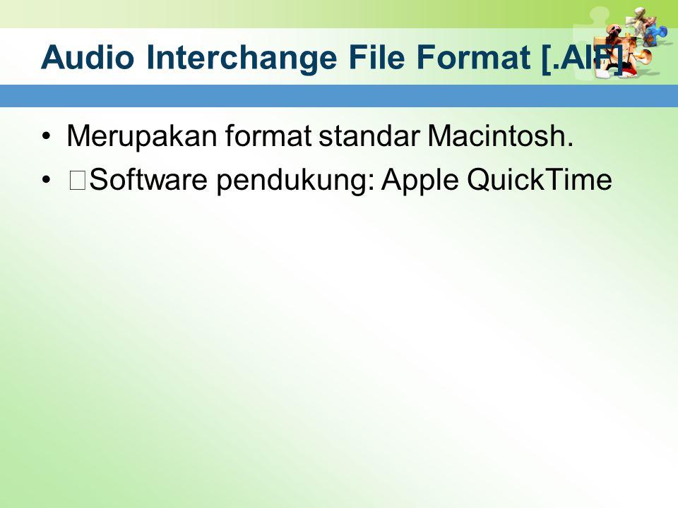 Audio Interchange File Format [.AIF]